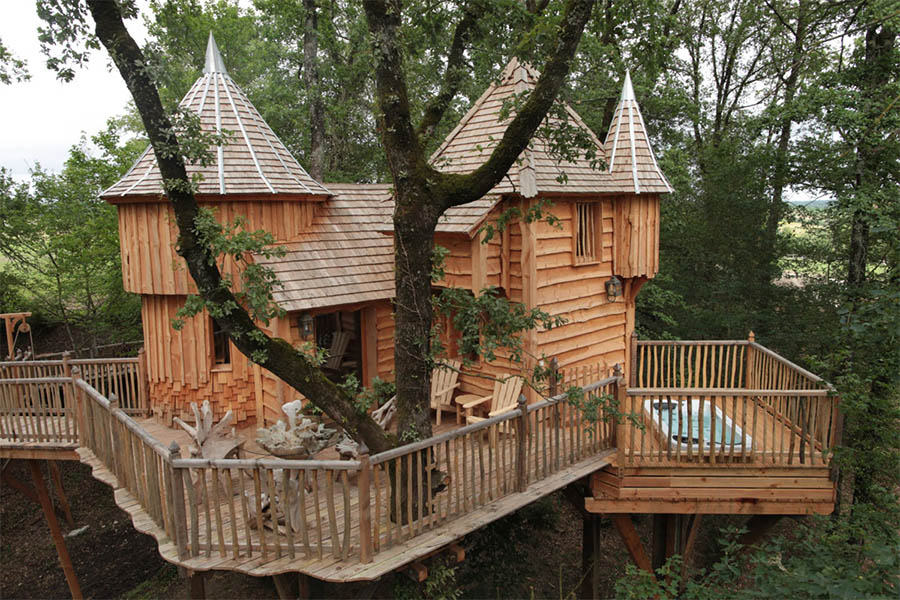 Permalink to:บ้านต้นไม้หรือบ้านที่สร้างบนต้นไม้, ประเทศฝรั่งเศส
